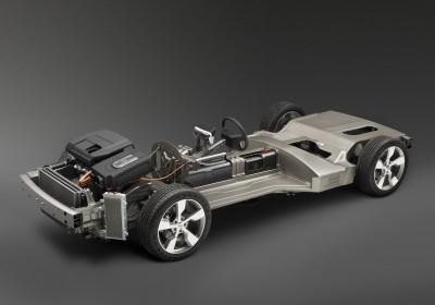 A Chevy Volt szerkezete